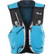 Salomon S/Lab Sense Ultra 8 Backpack Set transcend blue/black